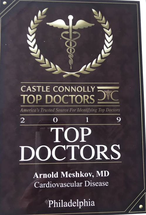 Castle Connolly Top Doctors Award 2019