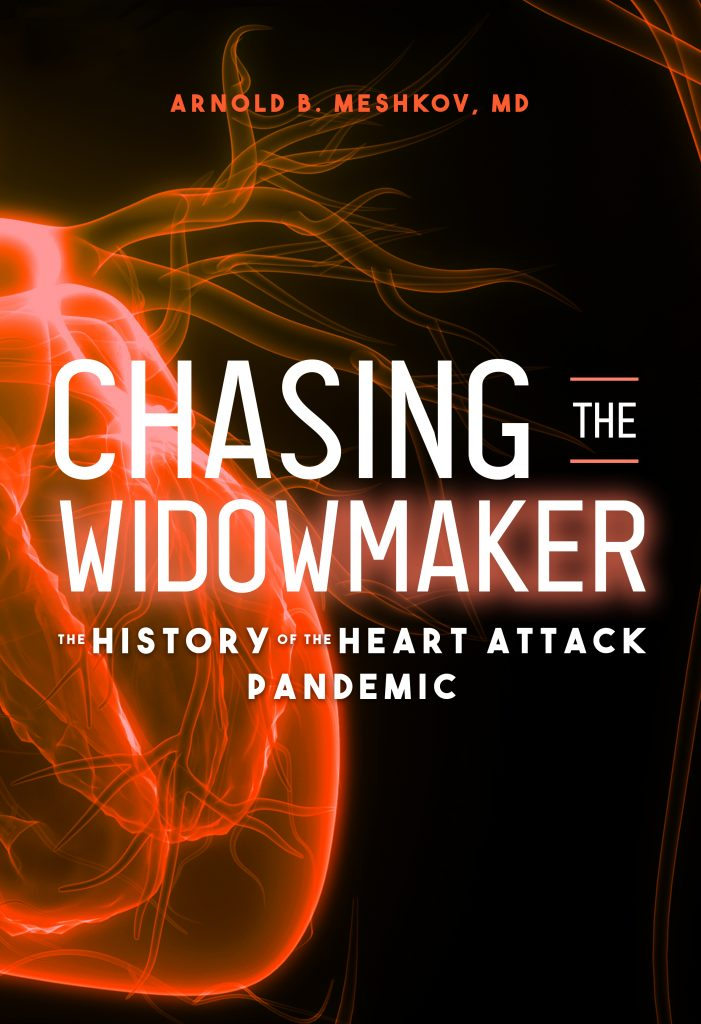 Book Cover Chasing the Widowmaker by Arnold Meshkov